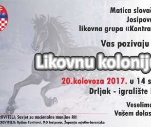 MS Josipovac Likovna kolonija u sklopu  10. manifestacije