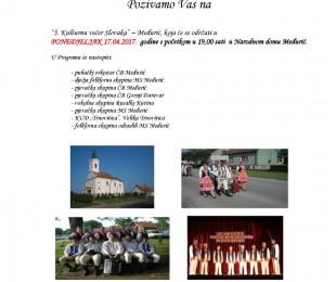 MS Međurić: 5. Kulturnu večer Slovaka